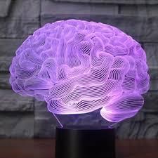Đèn LED mô hình não bộ 3D 7 màu thay đổi điều khiển ảo ảnh quang học cảm  ứng để bàn trang trí nội thất kèm phụ kiện giảm chỉ còn 183,500 đ
