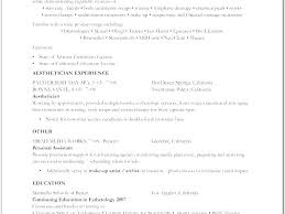 Esthetician Resume Sample Top Resume Sample Esthetician Resume