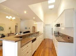 galley kitchen design with island ideas