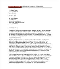 Free Cover Letter Examples Teacher Adriangatton Com