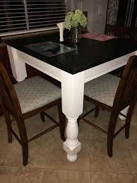 Counter Height Farmhouse Kitchen Table 2x6 Tongue And Groove