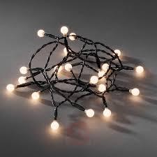 100 Light Warm White C9 String Set Warm White Light String Reliance Lighting Warm White Light