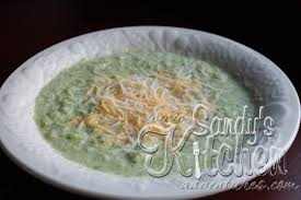 Medifast Green Conversion Chart Broccoli Cheese Soup Sandys Kitchen