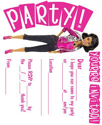 Small Picture The 25 best Barbie invitations ideas on Pinterest Barbie