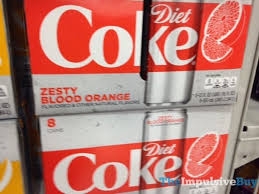 Diet Coke Vending Machine Fascinating DietCokeZestyBloodOrangejpg The Impulsive Buy