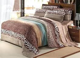red cheetah print bedding all king size leopard bedding sets on regarding duvet covers
