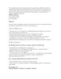 Dental Assistant Resume Objectives Get Medical Assistant Resume