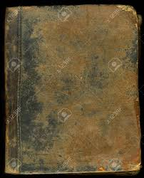 old leather book cover with broken edges stock photo 3304029