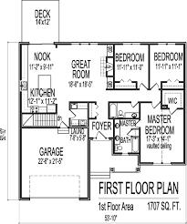 elevation 3 bedroom house floor plans