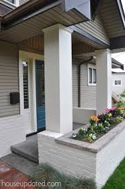 now that we ve painted the brick and window trim i am also thinking of painting the upside down v area above the planter box as well thoughts on that