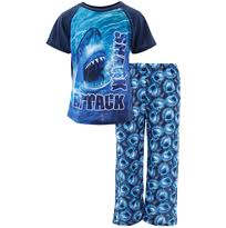 boys novelty pajamas shark attack blue pajamas for boys