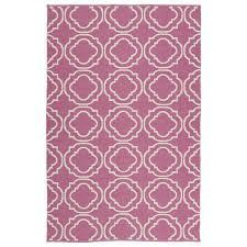 kaleen brisa pink indoor outdoor handcrafted coastal area rug common 8 x 10