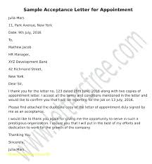 Job Offer Letter Letters Confirmation Of Acceptance Template – Trufflr