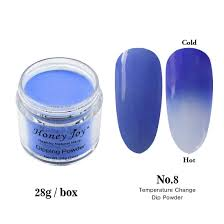 Effects Of Uv Light On Nails Amazon Com 28g Box Blue And White Temperature Color Change