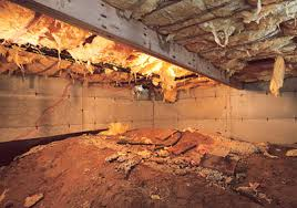 crawl space insulation. Wonderful Insulation Humid Air In The Crawl Space Can Cause Insulation To Become Wet When  Fiberglass Gets Wet It Compresses And Falls Out Of Place  On Crawl Space Insulation