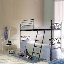 Vintage Shabby Chic design wrought iron bunk bed Oro by Cosatto. Available  in various finishes