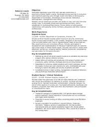 Rn Nursing Resume Examples Socalbrowncoats