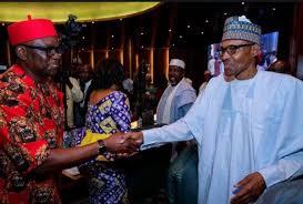 Fayose face-to-face with Buhari - Vanguard News