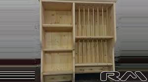 wooden plate rack victoria wall
