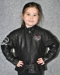 kids leather biker jacket