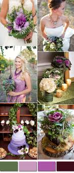 Purple and green wedding colors Summer Wedding Purple Green Srping Wedding Color Inspiration Ideas Stylish Wedd Blog Kale Green Wedding Color Ideas For 2017 Spring Summer Stylish