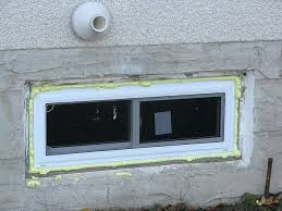 glass block window install excellent installing basement windows how to install glass block glass block basement
