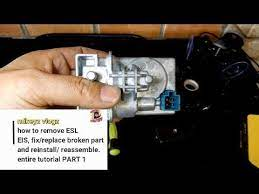 Gomarota location offline senior member. How To Remove And Fix Esl Eis Elv Module W212 W204 Mercedes Motor Replace Part 1 Youtube