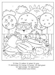 Coloring pages holidays nature worksheets color online kids games. Cute Cats Color By Number Coloring Books Cat Coloring Page Fall Coloring Pages