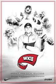 2015 WKU Football Media Guide by WKUSports issuu