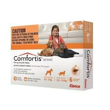 comfortis flea pill for cats.  Pill Comfortis For Dogs 10120lbs U0026 Cats 6112lbs  Orange 6 Pack Intended Flea Pill For D