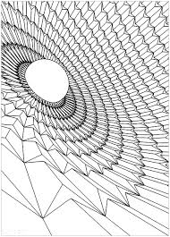 Small Picture Black hole Psychedelic Coloring pages for adults JustColor