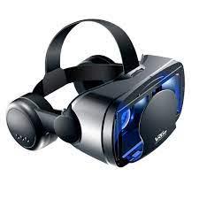 PangYa Kính Nhập Vai Thực Tế Ảo Cho Điện Thoại Di Động ( Với Tích Hợp  Headphone ) Kính 3D Blu-ray VR Thông Minh Gắn Đầu Giá Đỡ Điện Thoại Thiết Bị
