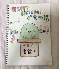 ぐち つぼ 誕生 日