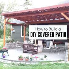 beautiful do it yourself patio cover kits