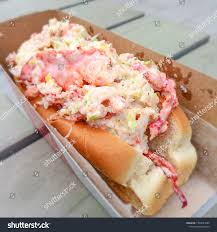 Lobster Roll Montreal Food Truck Stock ...