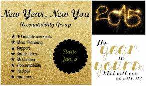 weightloss group new year new you health and fitness accountability group