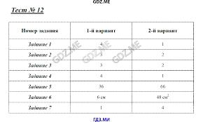 ГДЗ по математике класс Глазков Ахременкова контрольные работы   12