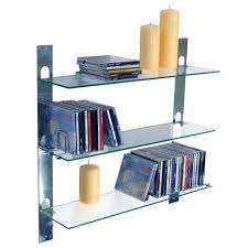 excellent storage shelves minimalist family room with wall mounted with modern glass shelves wall mounted