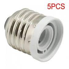 9 light bulb socket adapter 5 x light bulb socket adapter medium base e26 to candelabra