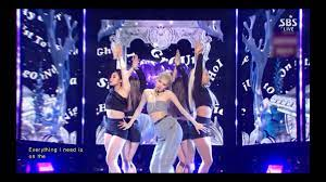 ROSÉ - 'On The Ground' 0321 SBS Inkigayo - YouTube