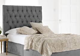 grey velvet headboard amazing yellow and gray bedroom design with