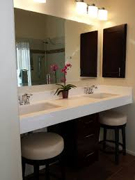 Master Bath vanity with ADA accessible roll under style sink base ...