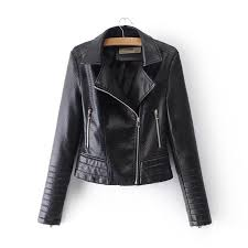 leather jacket motorcycle er jacket women 2018 black denim leather jackets china zipper short turn down collar zt001 canada 2019 from yujian18