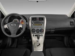 Image: 2010 Toyota Corolla 4-door Sedan Auto XRS (Natl) Dashboard ...