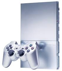 sony playstation 2 slim. sony silver playstation 2 console (slimline): amazon.co.uk: pc \u0026 video games playstation slim