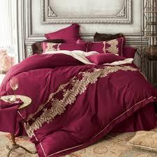 royal luxury duvet cover bed sheet bedding pillowcase embroidered duvet cover set queen king