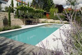 Bio Pool in a Mediterranean Hanging Garden