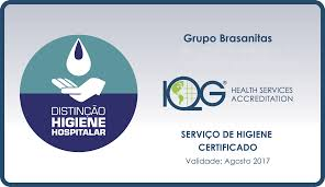 brasanitas of distinction in hospital hygiene services from the instituto qualisa de gestatildeo iqg which was ratified by the ian healthcare hospitality