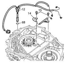 Repair instructions off vehicle input speed sensor and wiring 1217556 2682 1088 17867 40384 8 1218303html