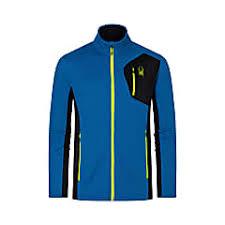 Spyder M Bandit Full Zip Fleece Jacket Old Glory Fast And